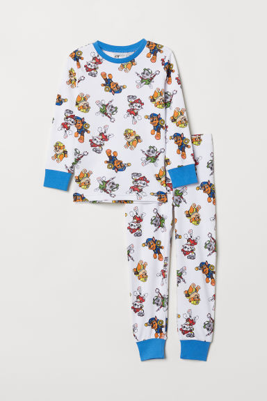 Tricot shortama - Wit/Paw Patrol - KINDEREN | H&M BE