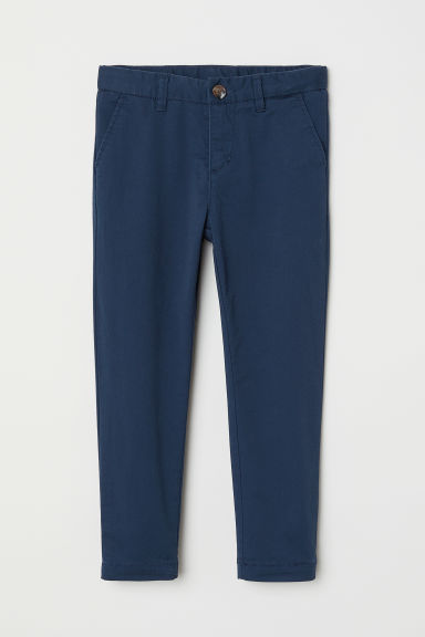 Chino - Slim fit - Donkerblauw - KINDEREN | H&M BE