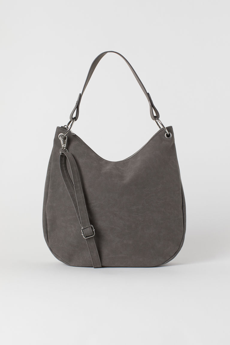 Hobo bag - Grey -  | H&M