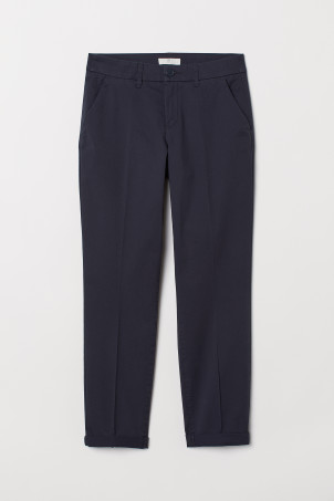 Ankle-length chinos