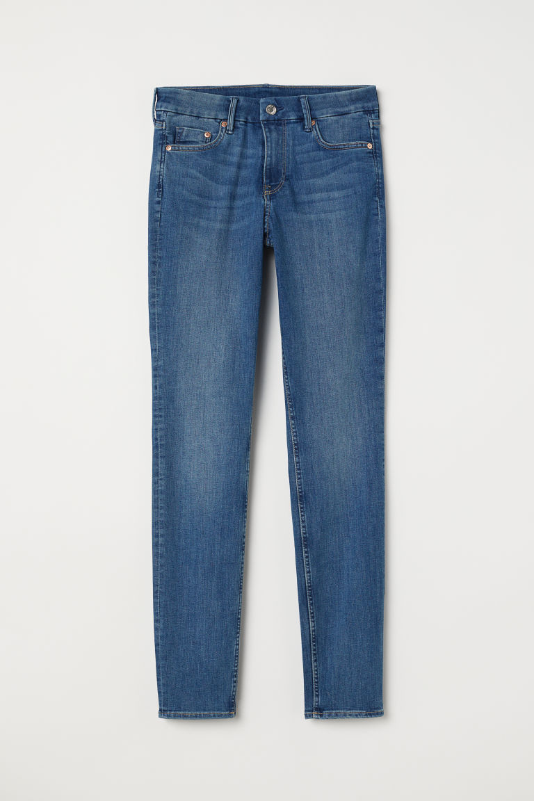 Skinny Regular Jeans - Denim blue -  | H&M CN
