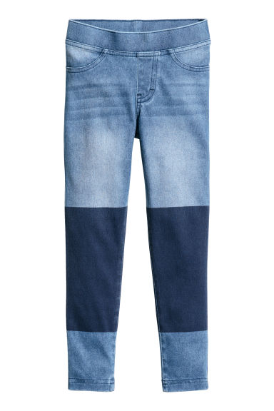 Treggings con aspecto denim - Azul oscuro -  | H&M ES