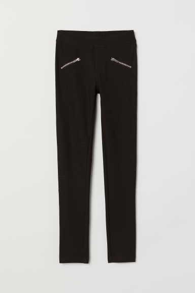 Leggings - Black - Kids | H&M CN
