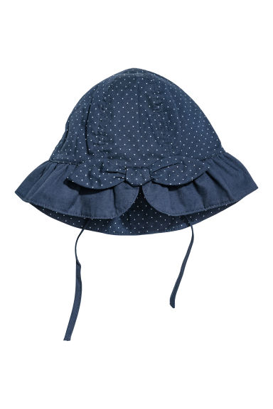 Cappello - Blu scuro/pois - BAMBINO | H&M IT