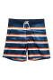 Dark blue/Orange striped