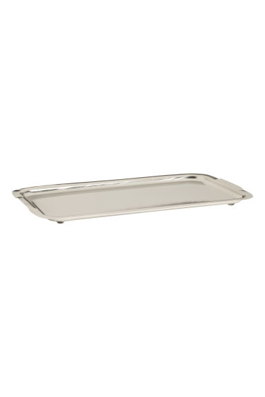 Metal tray - Silver -  | H&M GB