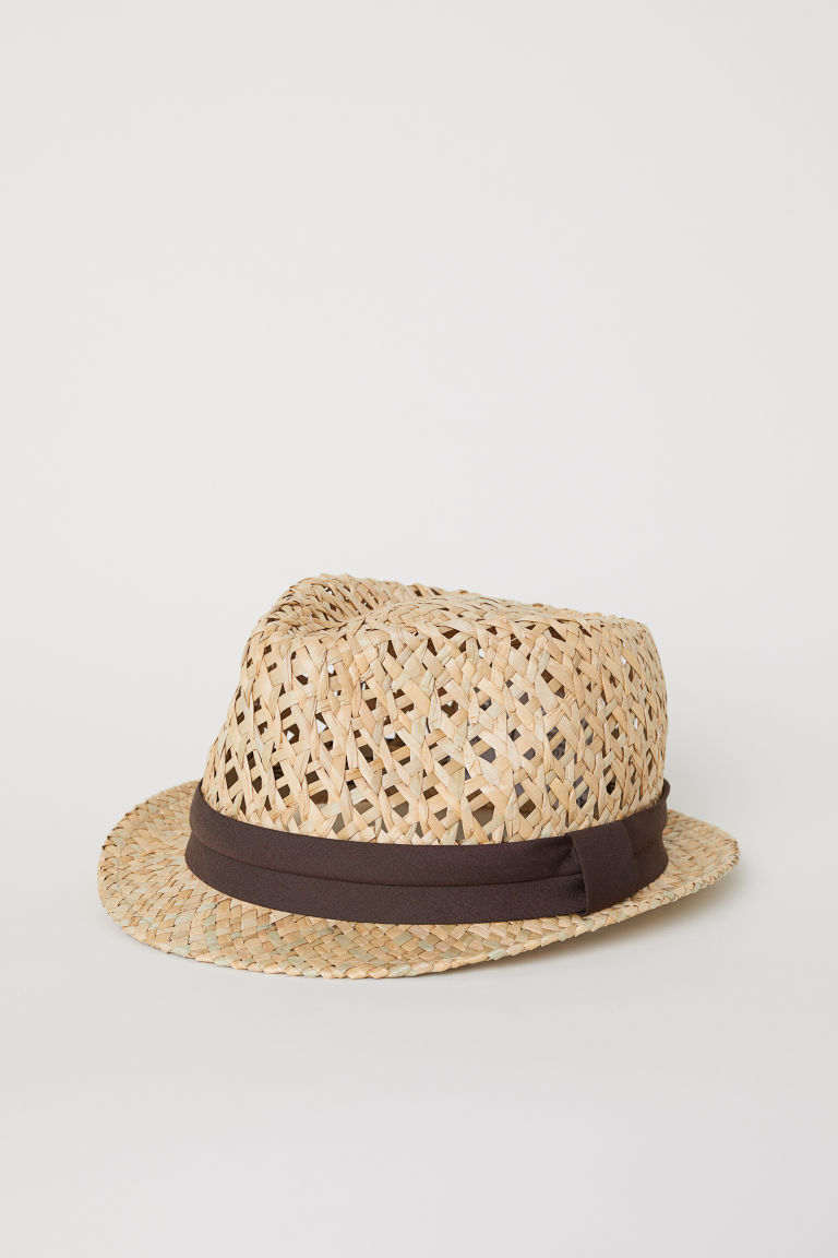 Straw hat - Natural - Men | H&M CN