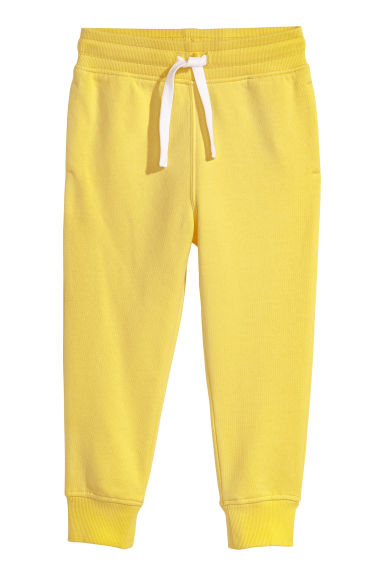 Joggers - Bright yellow - Kids | H&M CN