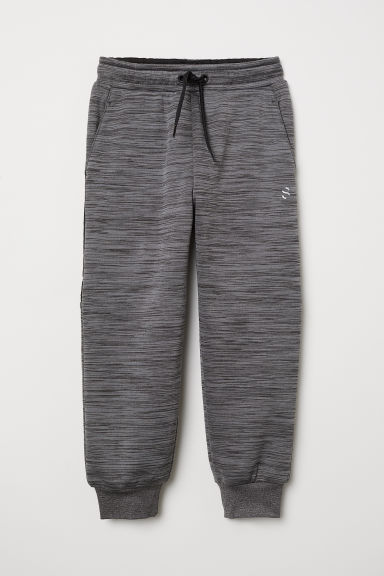Sports trousers - Dark grey marl - Kids | H&M CN