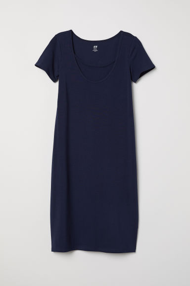MAMA Nursing dress - Dark blue - Ladies | H&M CN