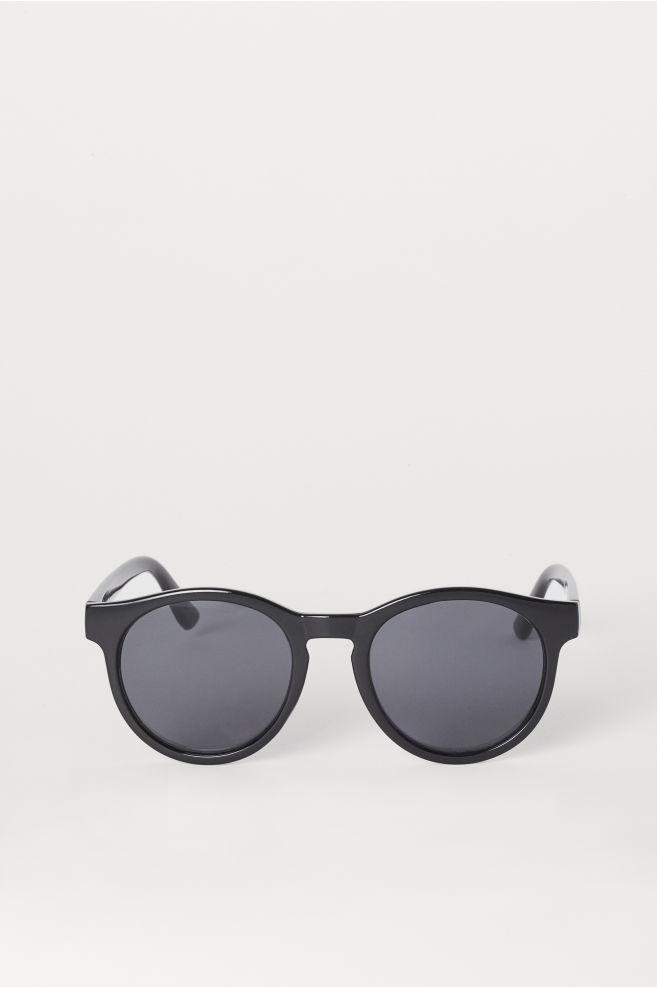 e71f70219fe4 Runde solbriller - Sort - DAME