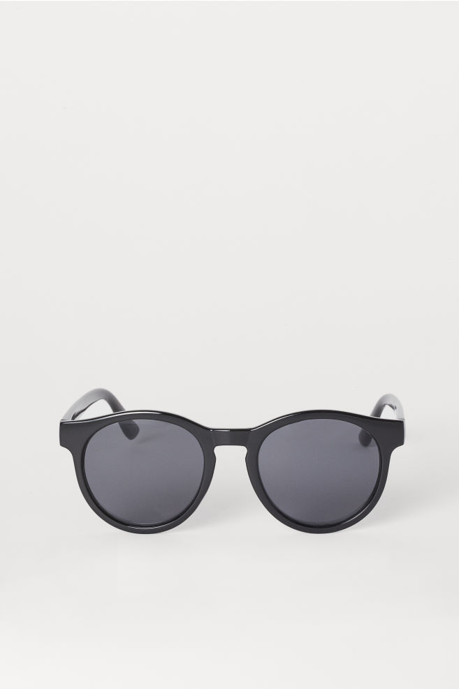 896c323efdd864 Ronde zonnebril - Zwart - DAMES