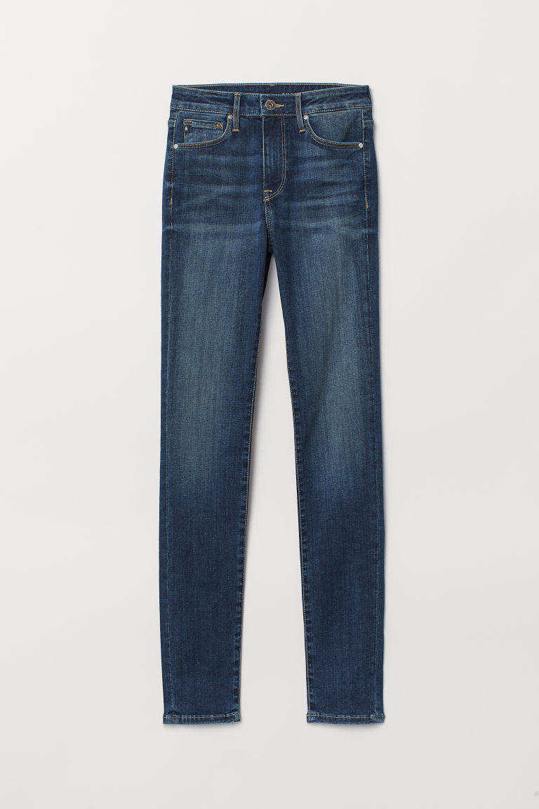 Shaping Skinny Regular Jeans - Dark denim blue -  | H&M