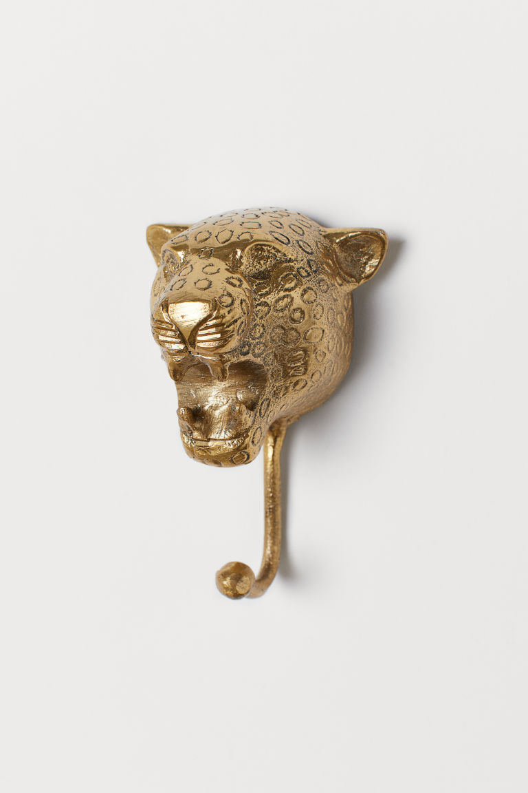 Metal hook - Gold-coloured - Home All | H&M GB