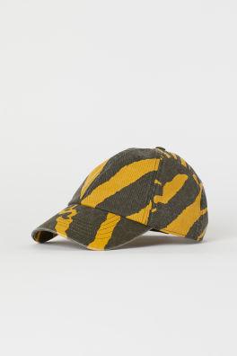 599d0e93615 Zebra-striped Cap