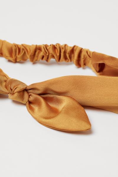 H&M - Tie-detail hairband - 2