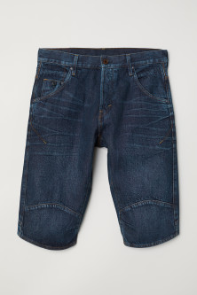 Straight Jeansshorts