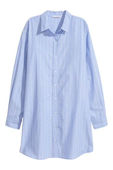 Oversized shirt - Light blue - Ladies | H&M
