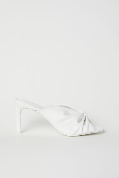 Sandali slip-on - Bianco - DONNA | H&M IT