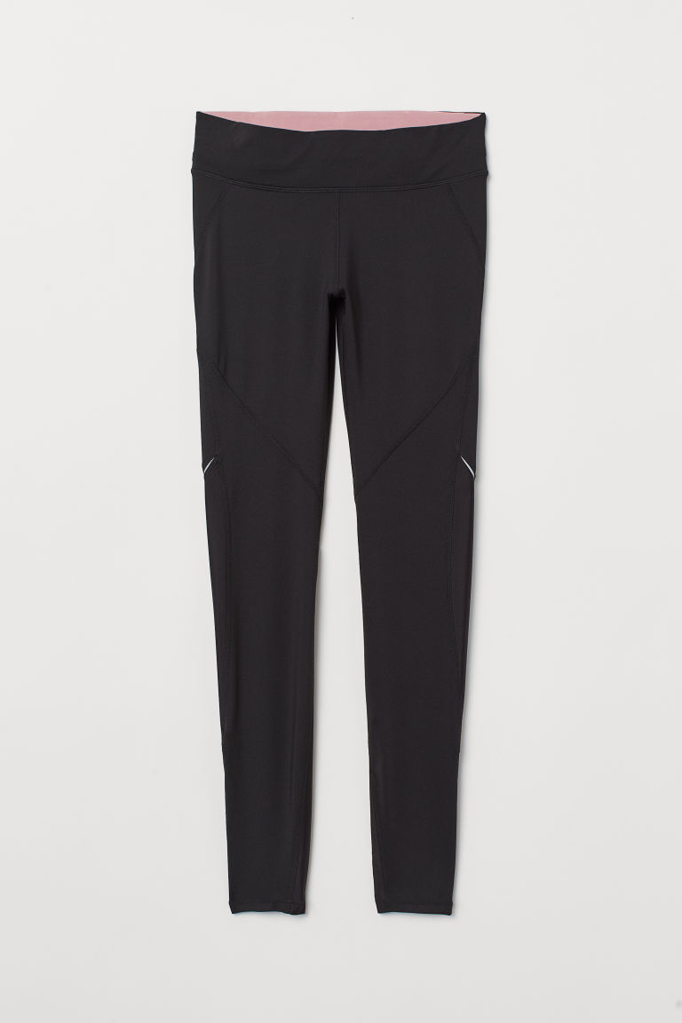 Running tights - Black - Ladies | H&M IE
