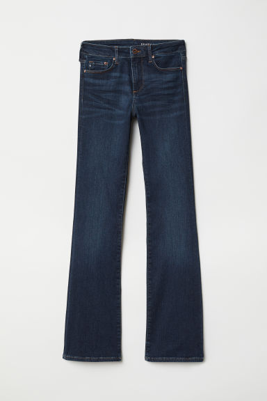 Shaping Bootcut Regular Jeans - Azul denim oscuro -  | H&M ES
