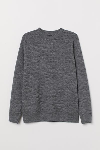 H&M - Textured-knit jumper - 5