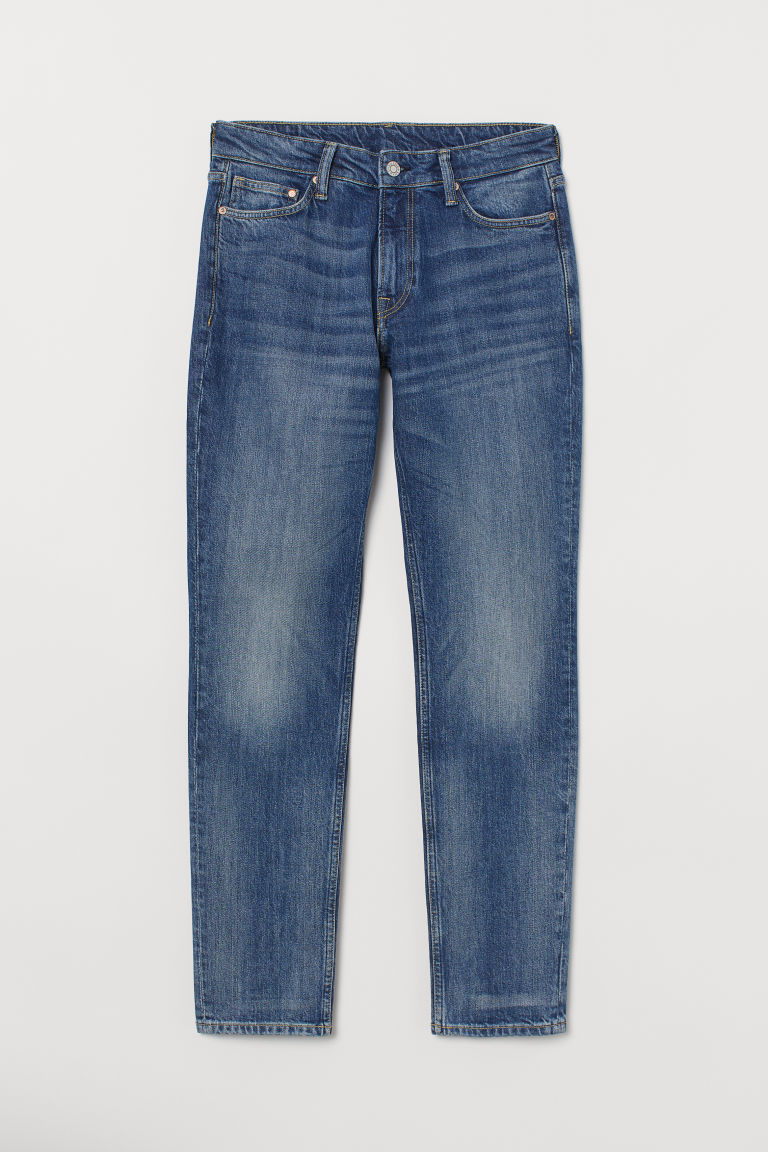 Athletic Tapered Jeans - Denim blue -  | H&M