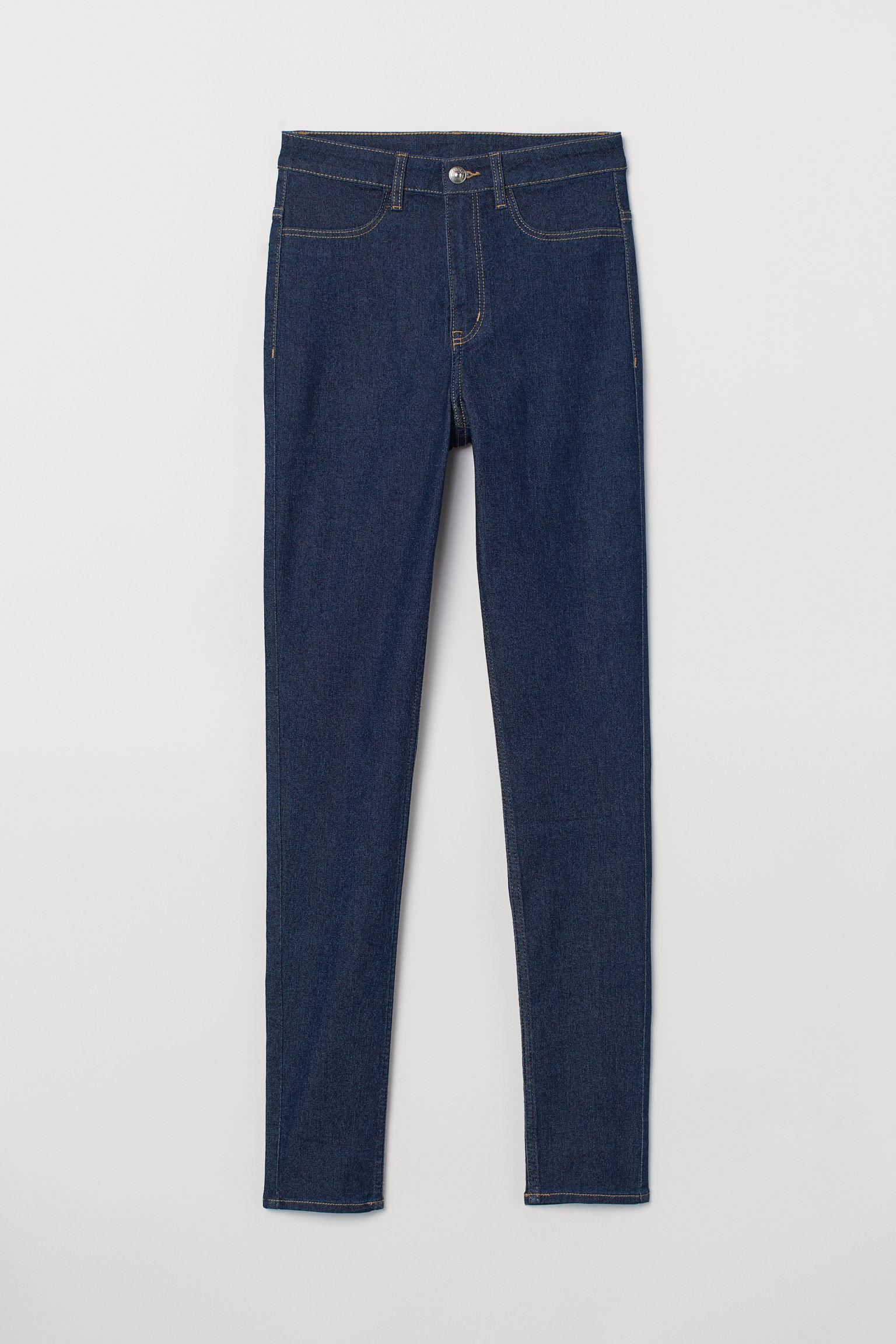 מחיר מדהים מכירת הנחות יופי Super Skinny High Jeans - Albastru-denim - FEMEI | H&M RO