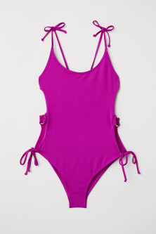 Cut-out swimsuit