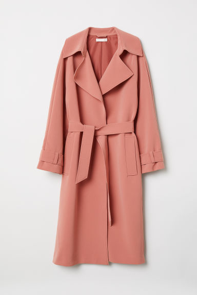 Trenchcoat - Vintage pink - Ladies | H&M GB