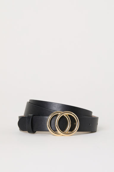 Narrow belt - Black -  | H&M CN