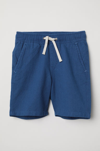 Woven shorts - Blue -  | H&M