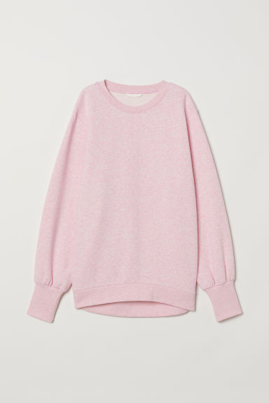 Sweatshirt - Pink marl - Ladies | H&M