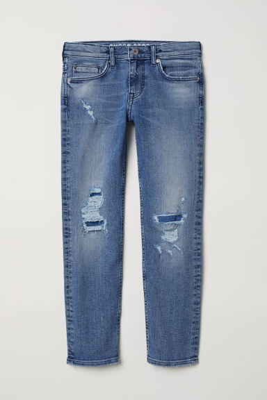 Superstretch Slim Fit Jeans - Denim blue - Kids | H&M CN
