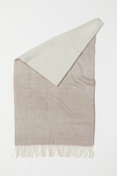 Large scarf - Mole/Block-patterned - Ladies | H&M