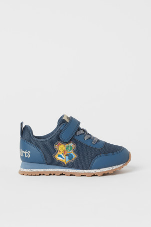 H&M 키즈 해리포터 운동화 Appliqued Sneakers,Blue