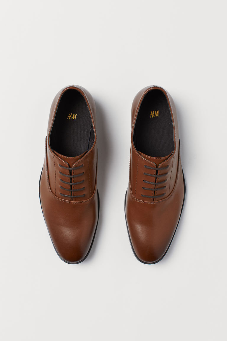 Oxford shoes - Brown -  | H&M