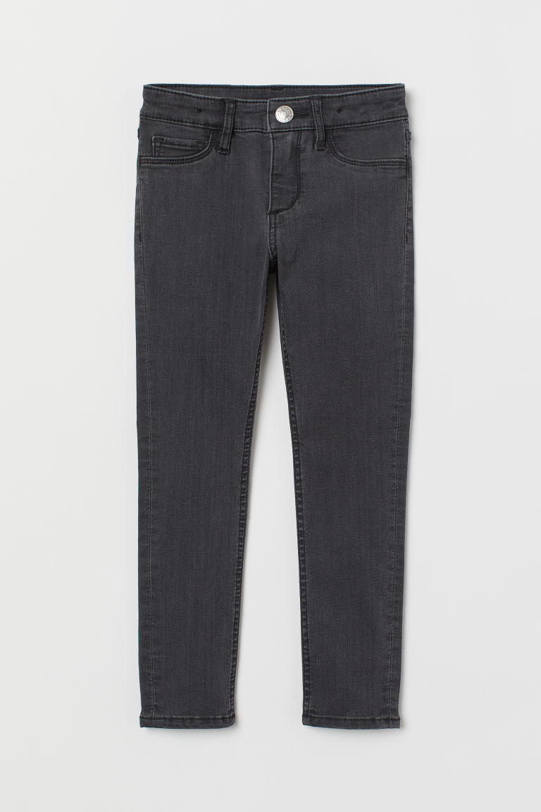 Superstretch Skinny Fit Jeans - Grigio scuro - BAMBINO | H&M CH