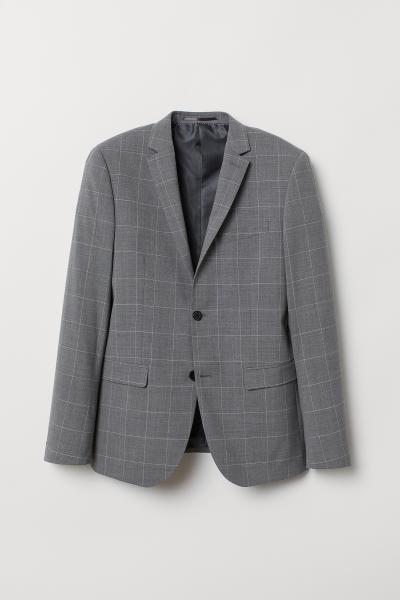 H&M - Wool-blend jacket Slim Fit - 5