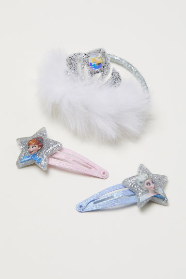 Hair set - Light blue/Frozen - Kids | H&M