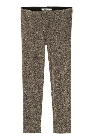 Legging scintillant - Doré/scintillant - ENFANT | H&M BE