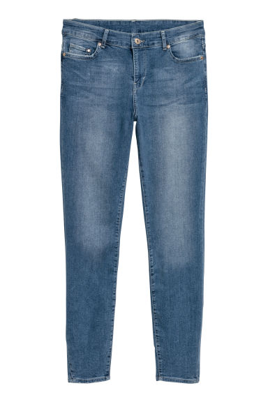 H&M+ Skinny Regular Jeans - Denim blue - Ladies | H&M CN