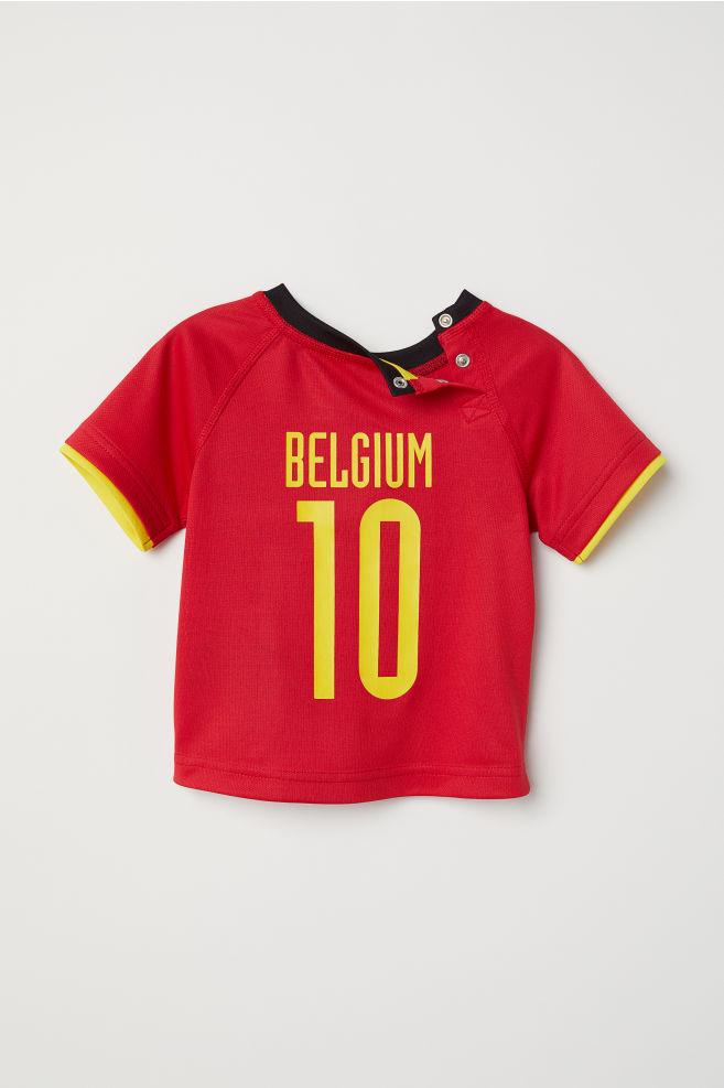 81102bf31 Football shirt - Red Belgium - Kids