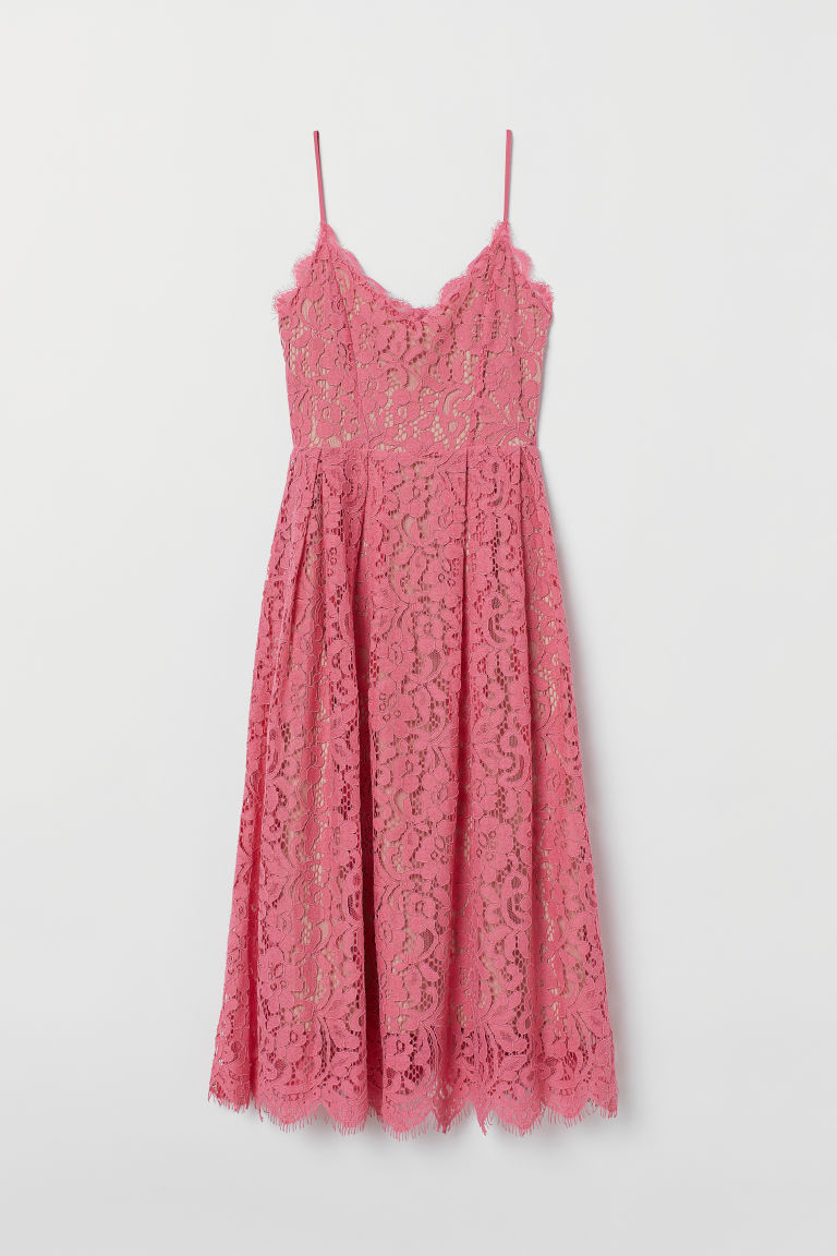 Lace dress - Pink - Ladies | H&M