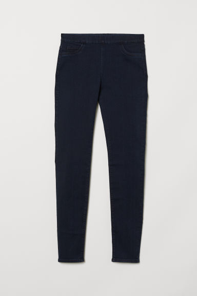 Superstretch tregging - Donkerblauw - DAMES | H&M BE