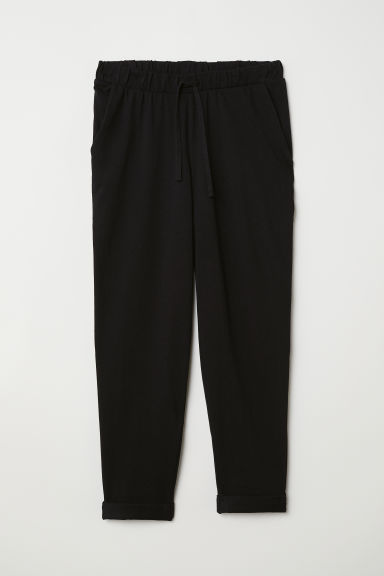 Joggers - Nero - DONNA | H&M IT