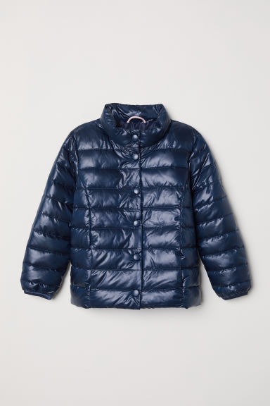 Padded jacket - Dark blue - Kids | H&M CN