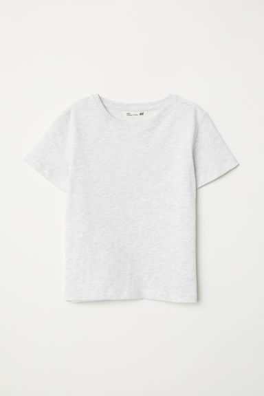 T-shirt - Light grey marl - Kids | H&M