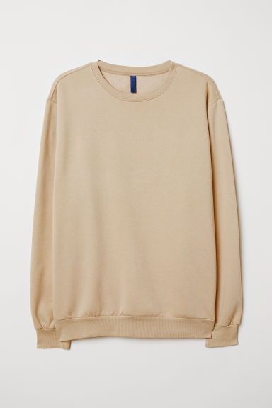 Oversized sweatshirt - Beige - Men | H&M CN