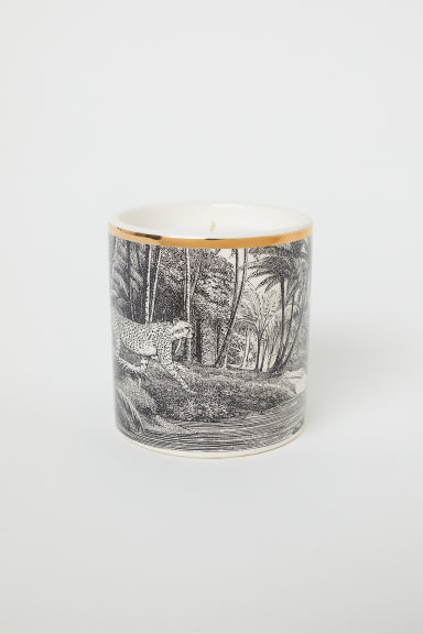 Candela profumata in vasetto - Bianco/Bergamot - HOME | H&M IT